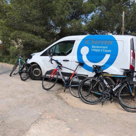IC Serveis en la carrera Mallorca 312